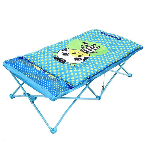 KingCamp Kids Cartoon Bed - Blue