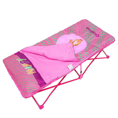 KingCamp Kids Cartoon Bed - Pink