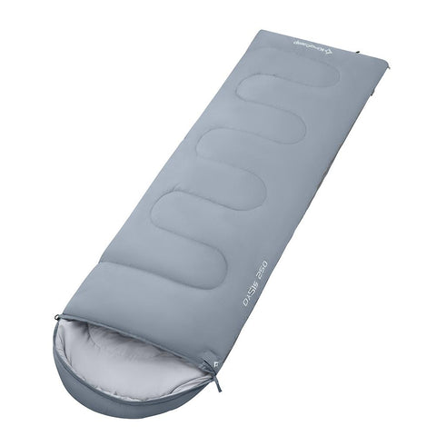KingCamp Oasis 250 Portable Lightweight Sleeping Bag - Mid Gray