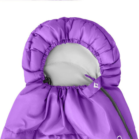 KingCamp Oasis 250 Portable Lightweight Sleeping Bag - Purple