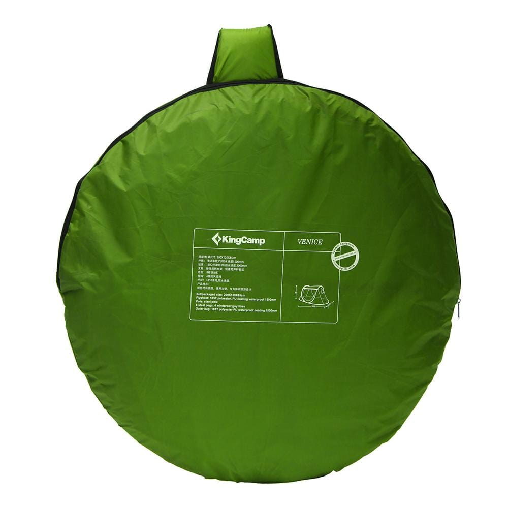 KingCamp Venice Pop-Up Lightweight Tent - Green
