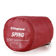 KingCamp Spring Sleeping Bag - Dark Red