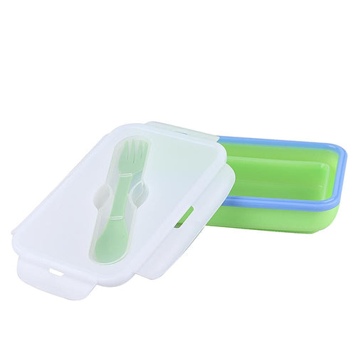 KingCamp Silicone Foldable Lunch Box - Green