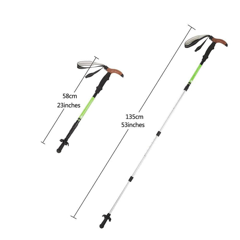KingCamp Compact TT Trekking Trail Pole - Green