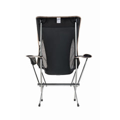 KingCamp Ultralight Folding Aluminum Arm Chair - Black