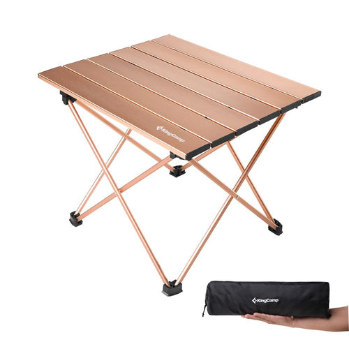 KingCamp Ultralight Aluminum Table S - Gold