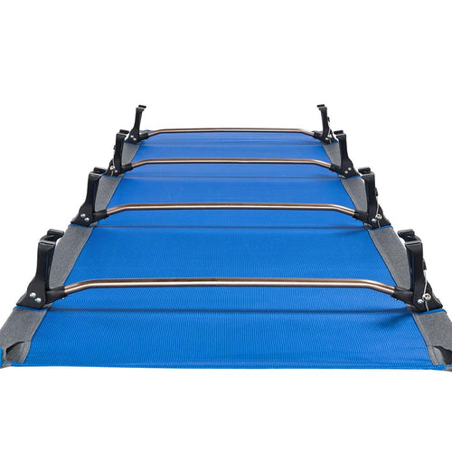 KingCamp Ultralight Folding Camping Cot - Blue