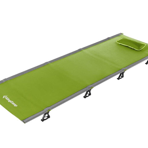 KingCamp Ultralight Folding Camping Cot - Green