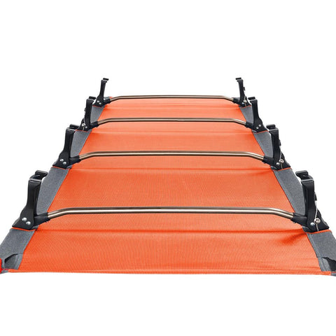 KingCamp Ultralight Folding Camping Cot - Orange