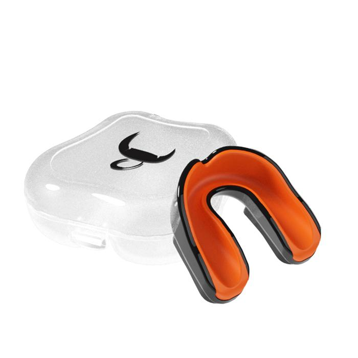 Bulls Professional Mouth Guard Pro - Black/Orange