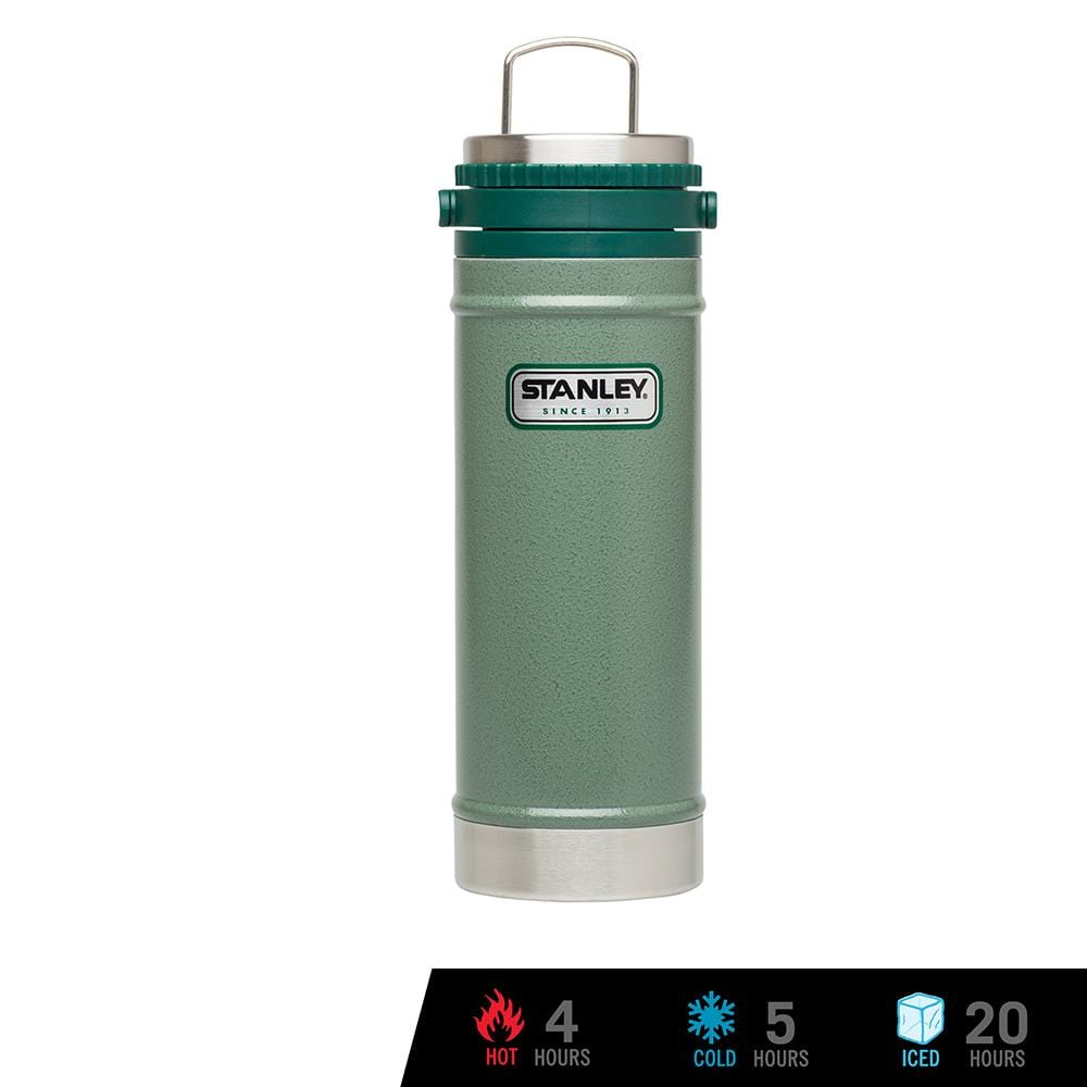 Stanley Classic Vacuum Travel Press 16oz / 473ml - Hammertone Green
