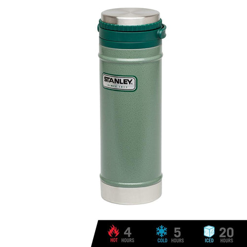 Classic Vacuum Travel Press 16oz / 473ml - Hammertone Green