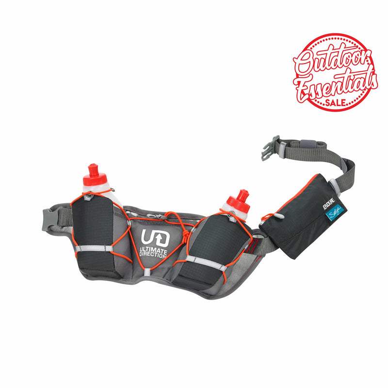 Ultimate Direction Hydration Belt - Scott Jurek Endure Grey/Black