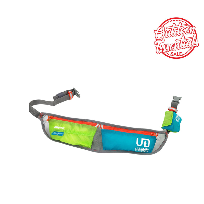 Ultimate Direction Running Belt - Scott Jurek Essential Citron/Teal