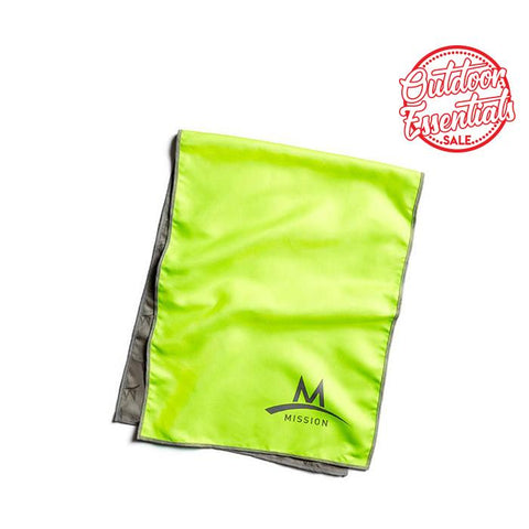 Enduracool Microfiber Cooling Towel - Hi Vis Green Large