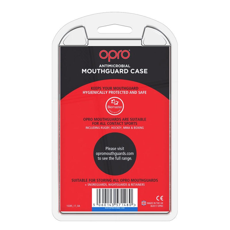 Opro Self-Fit Gen 4 Anti-Microbial Case - Blue