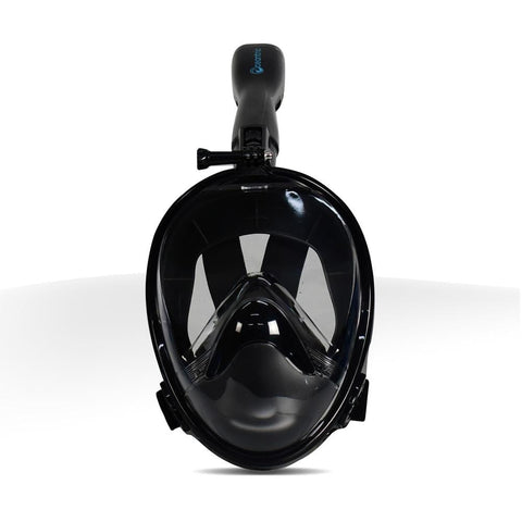 Oceantric Full Face Snorkel Mask 2.0 - Black