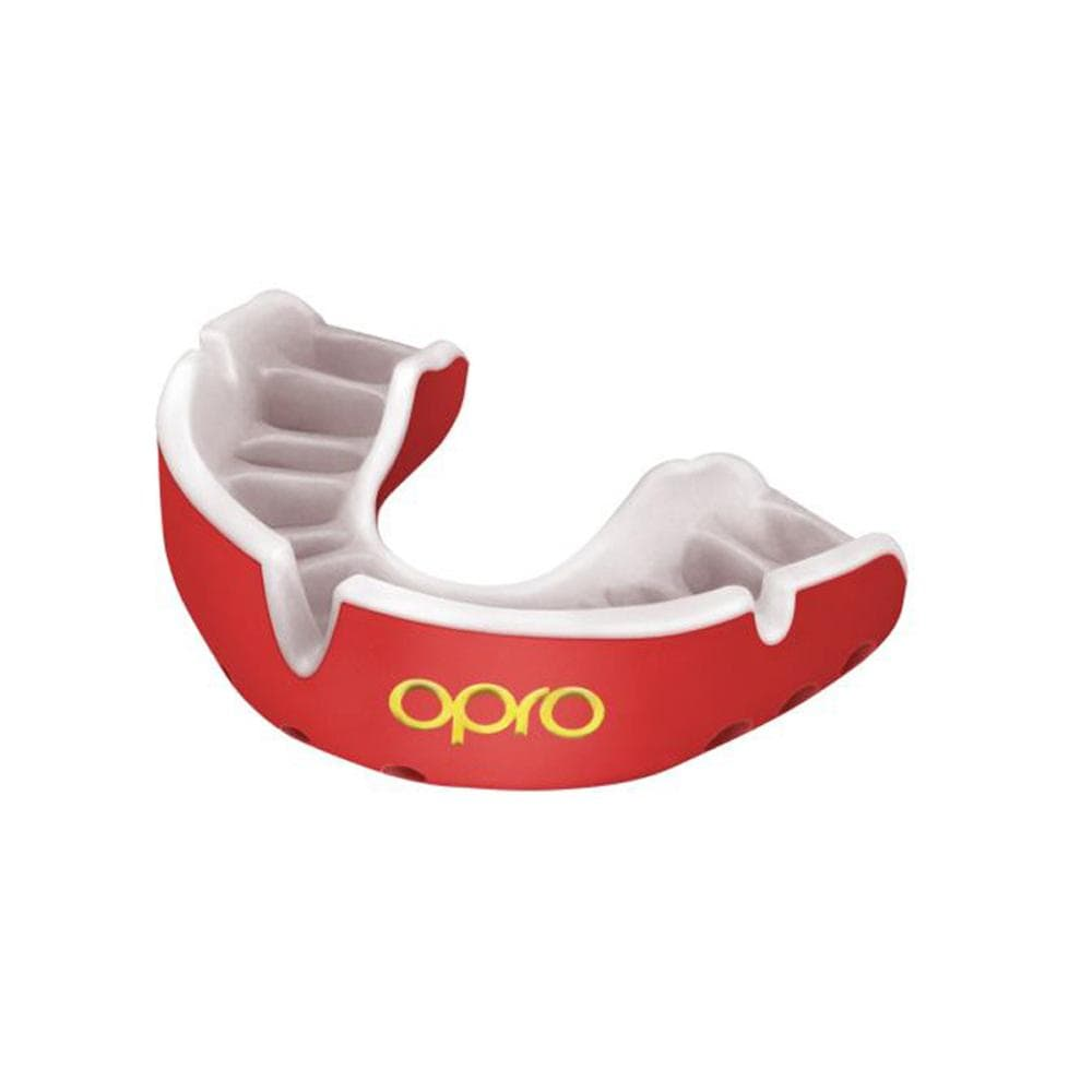 Opro Mouthguard Self-Fit Gen 4 Gold -  Red/Pearl