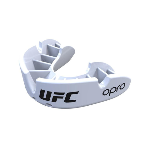 Opro Mouthguard Self-Fit UFC Bronze - White