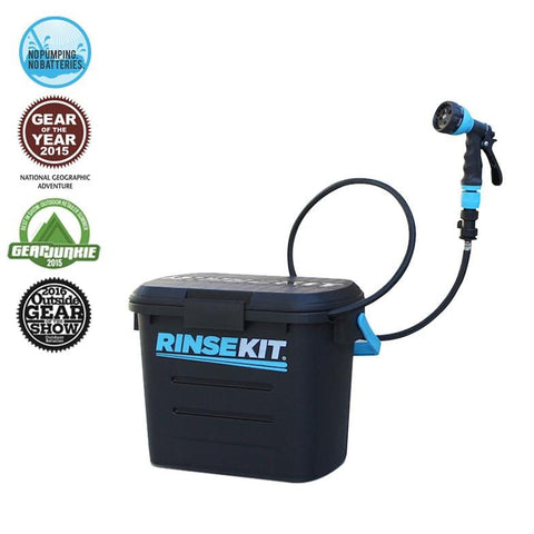 RinseKit - Pressurized Portable Shower