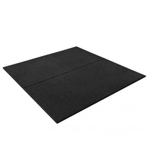Versafit Rubber Gym Tile (Black)