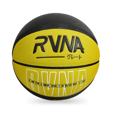 RVNA Basketball Quote Series - Yellow/Black
