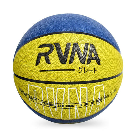RVNA Basketball Quote Series - Yellow/Blue
