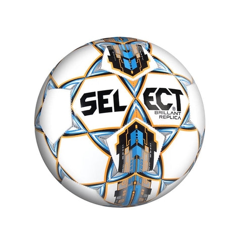 Select Football Brilliant - White and Blue