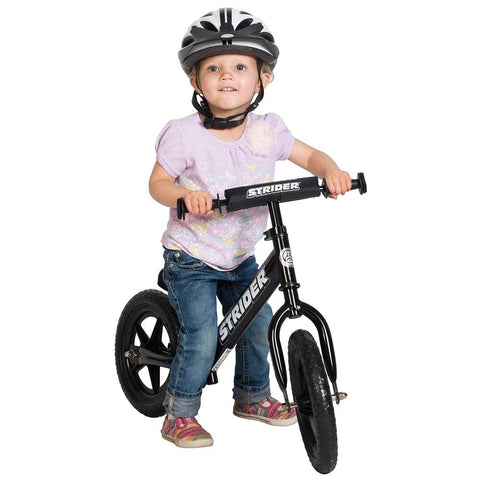 Strider 12 Sport Balance Bike - Black