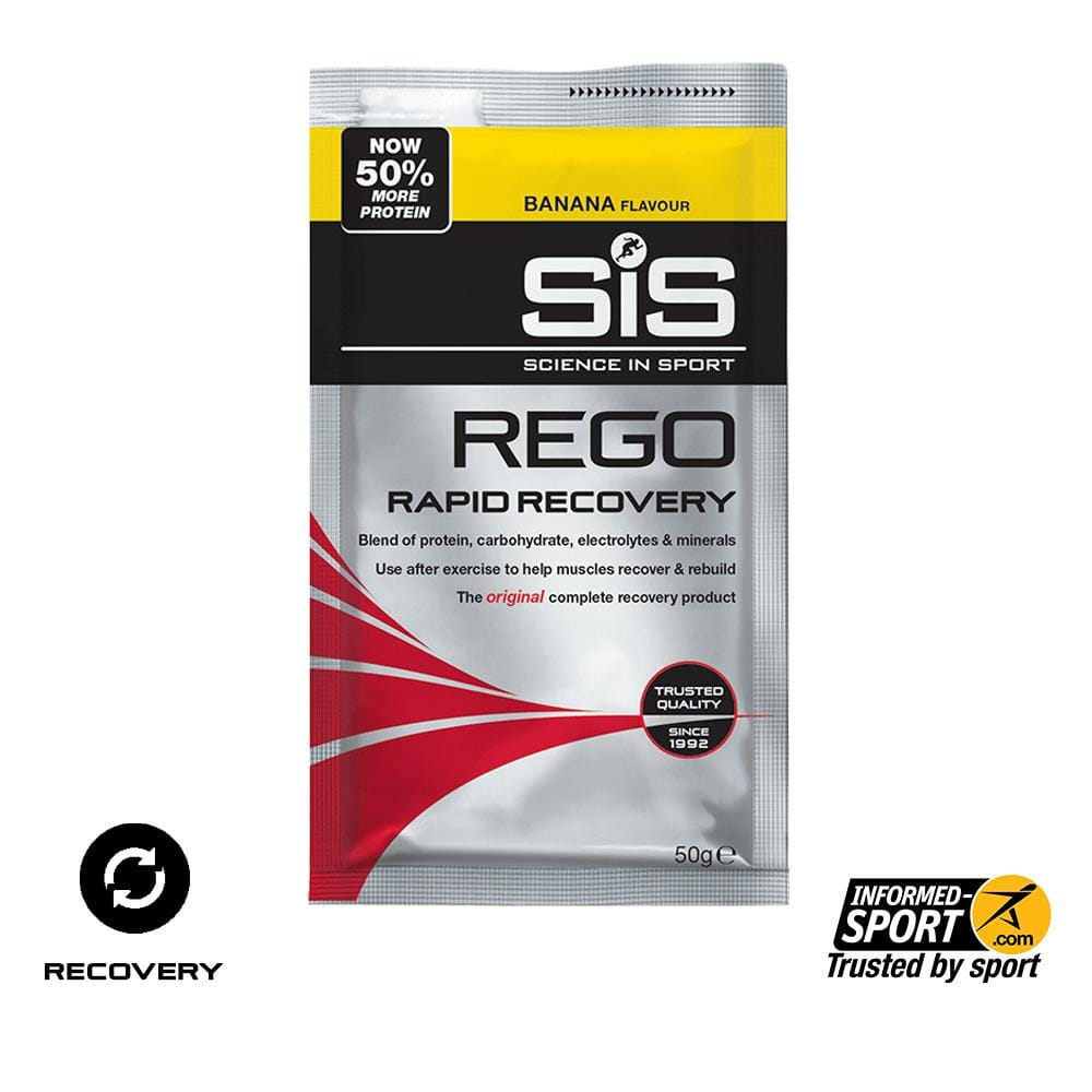 SiS REGO Rapid Recovery 50g -  Banana