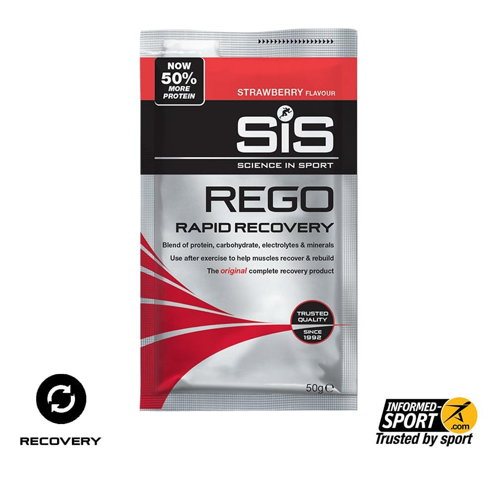 SiS REGO Rapid Recovery 50g - Strawberry