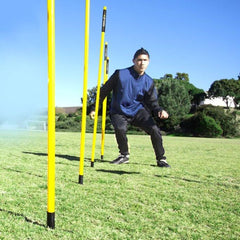SKLZ Agility Poles - Portable Outdoor Training Markers