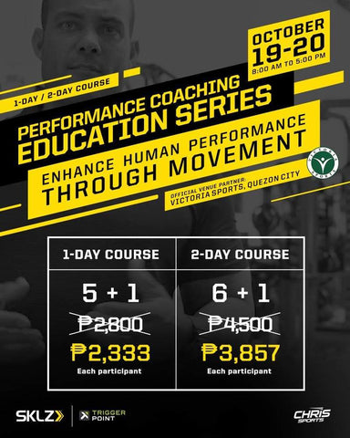 6+1 Promo: SKLZ x TriggerPoint Performance Coaching Education Series (2 Days)