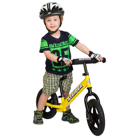 Strider 12 Sport Balance Bike - Yellow