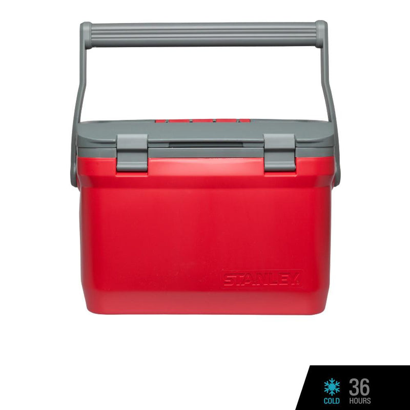 Stanley Adventure Cooler (Industrial Grade) - 15.1L/16QT - Flannel Red