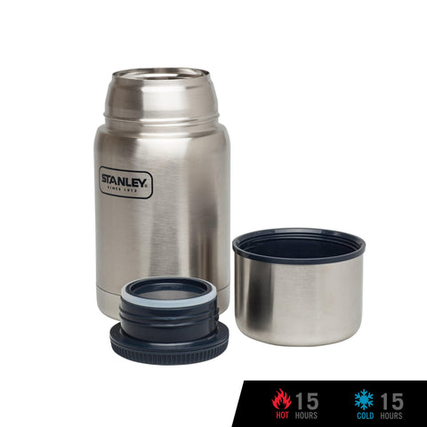 Stanley Adventure Vacuum Food Jar  24oz / 700ml - Stainless Steel