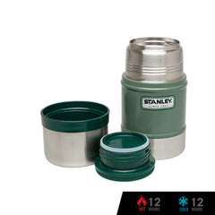 Stanley Classic Vacuum Food Jar 17oz / 500mL - Hammertone Green
