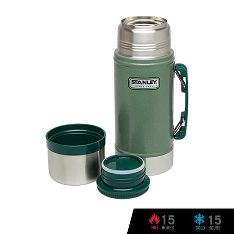 Stanley Classic Vacuum Food Jar 24oz / 700ml - Hammertone Green