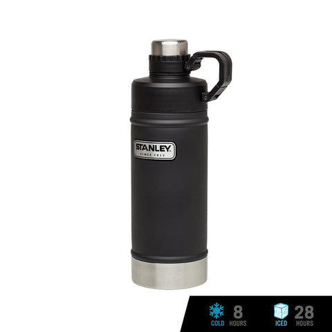 Stanley Classic Vacuum Water Bottle 18oz / 530ml - Matte Black