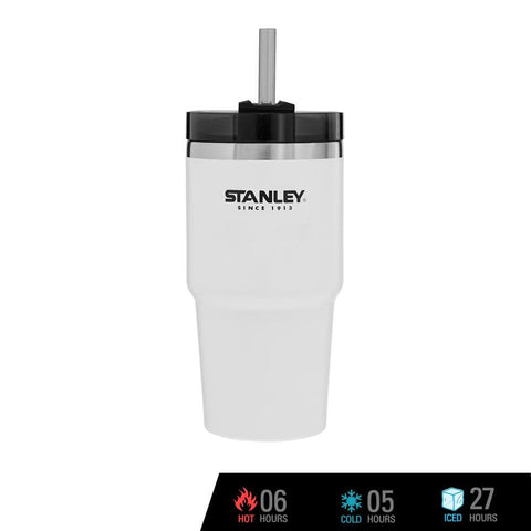 Stanley Adventure Vacuum Quencher 23 oz - Polar White