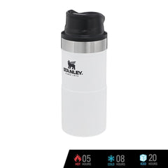 Stanley Trigger-Action Mug 12oz - Polar White