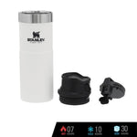 Stanley Trigger-Action Travel Mug 16oz / 473ml - Polar White