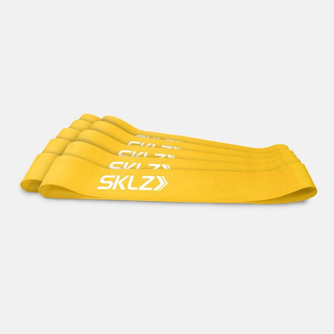 SKLZ Mini Bands - Pack of 10 (Yellow)