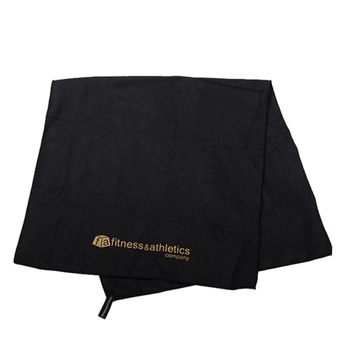 Fitness & Athletics Towel Black