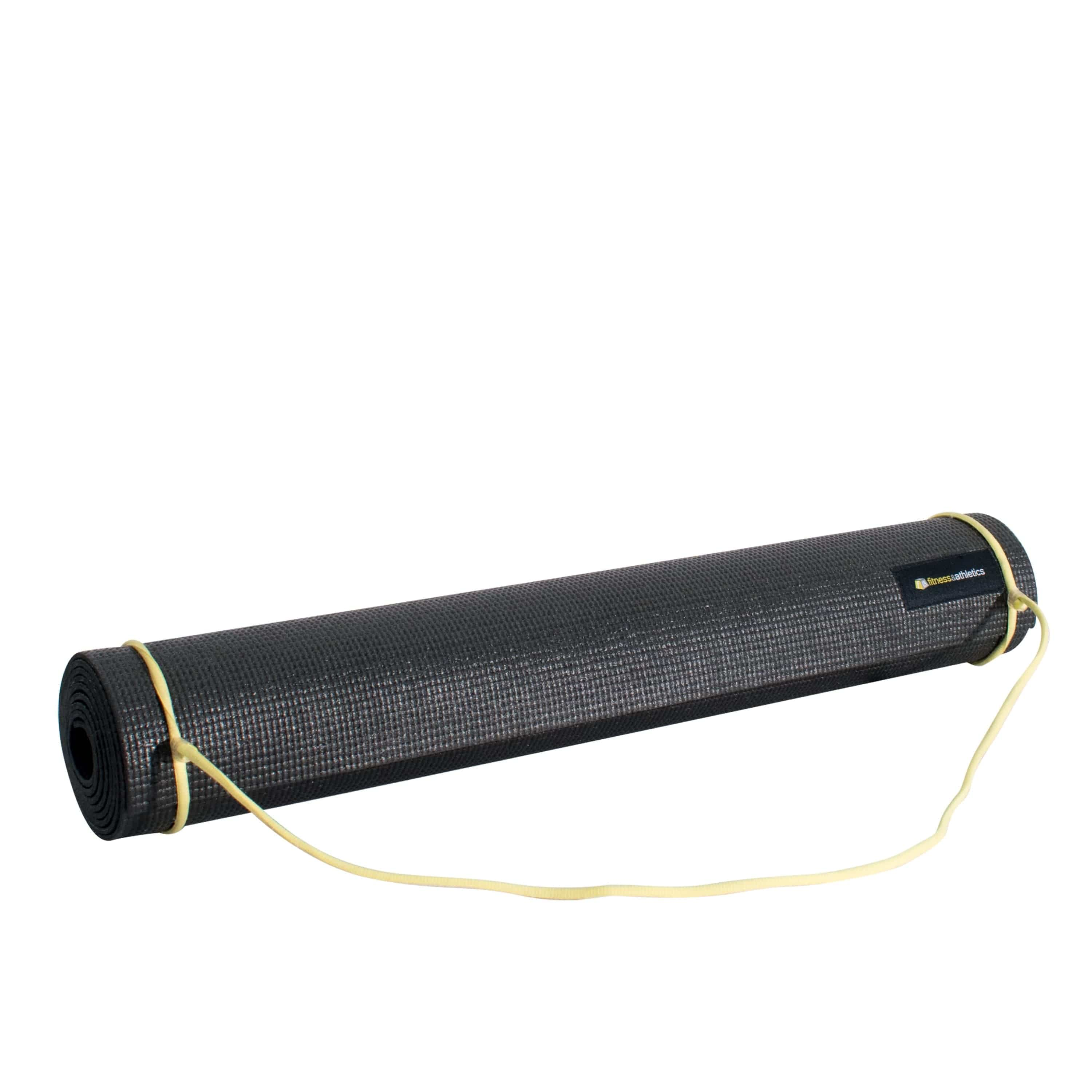 Fitness & Athletics Yoga Mat 3mm - Black
