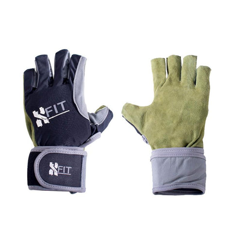 X-Fit Glove Wraps Open Finger - Men
