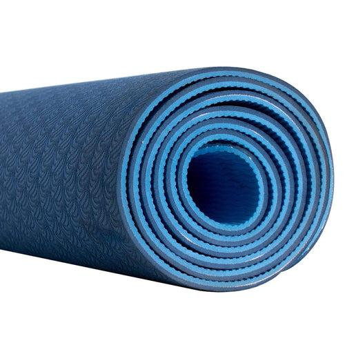 Fitness & Athletics Premium Yoga Mat - Blue/Light-Blue