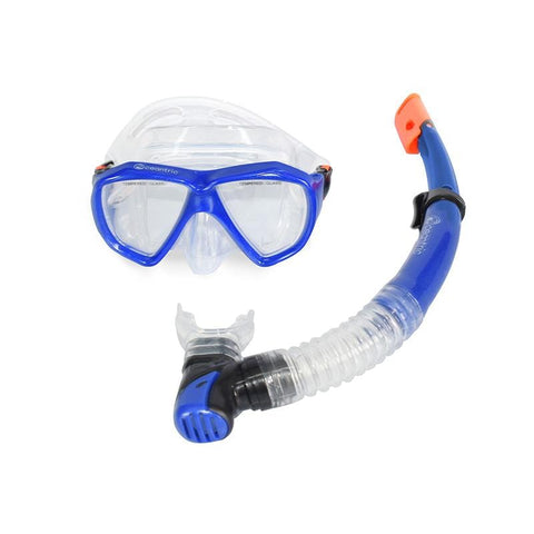 Oceantric Snorkeling Set - Blue (Adult)