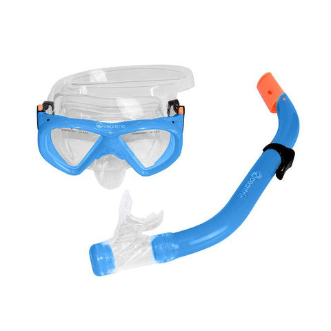 Oceantric Snorkeling Set - Blue (Kids)