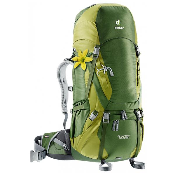 3fcaa42a719 Deuter Backpack - Aircontact 50 + 10 SL – Chris Sports